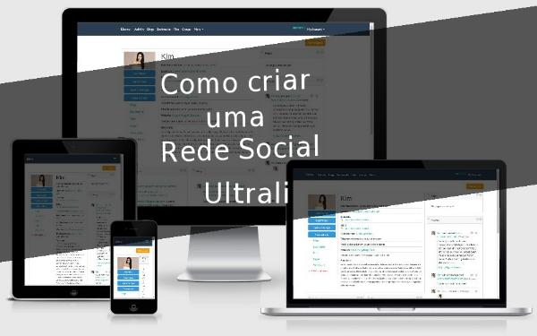 Como criar uma Rede Social