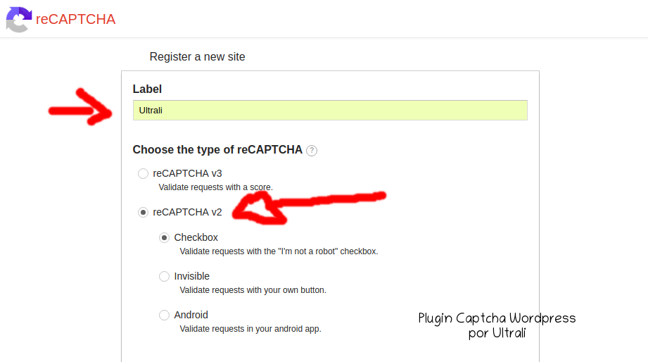 Plugin Captcha WordPress4